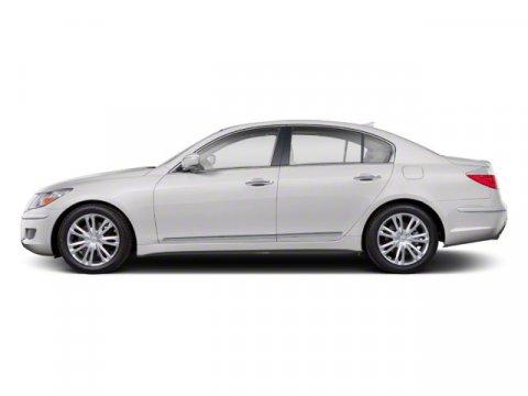 2011 Hyundai Genesis 4DR SDN V6 White Satin Pearl V6 38L Automatic 88837 miles  Rear Wheel Dr