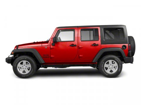 2011 Jeep Wrangler Unlimited Sahara Flame Red Clear Coat V6 38L  38717 miles  Four Wheel Driv