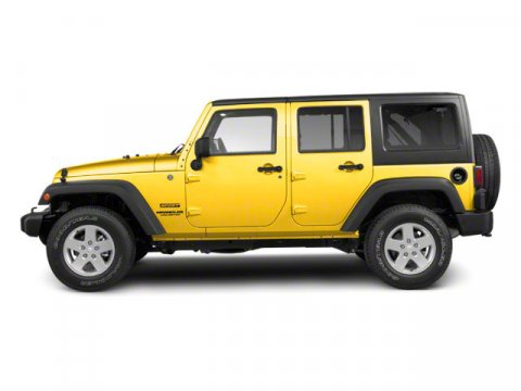 2011 Jeep Wrangler Unlimited Rubicon Detonator Yellow Clear Coat V6 38L Automatic 37071 miles