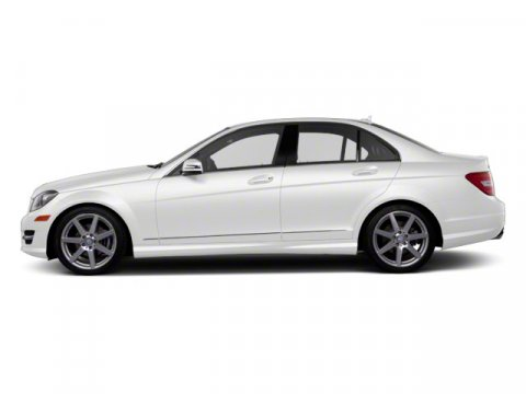 2011 Mercedes C-Class Arctic White V6 30L  52145 miles  Rear Wheel Drive  Power Steering  A