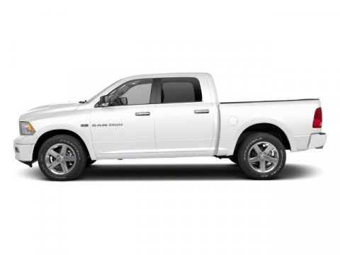 2012 Ram 1500 Big Horn Bright WhiteLight Pebble BeigeBark Brown V8 57L Automatic 80544 miles