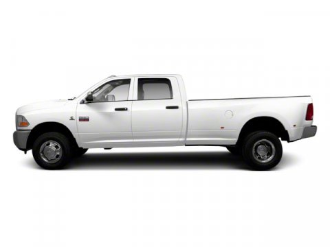 2012 Ram 3500 ST Bright WhiteDark SlateMedium Graystone Interior V6 67L Manual 55992 miles