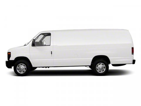 2012 Ford Econoline Cargo Van Commercial Oxford WhiteGray V8 46L Automatic 41962 miles This F