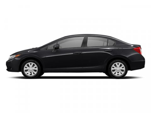 2012 Honda Civic Sdn LX Crystal Black PearlGray V4 18L Automatic 55294 miles IIHS Top Safety