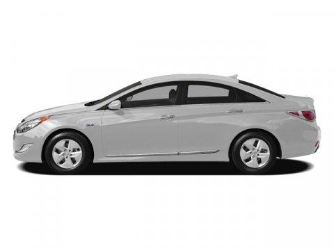 2012 Hyundai Sonata Hybrid Porcelain White Pearl V4 24L Automatic 74392 miles 24L 4-Cylinder