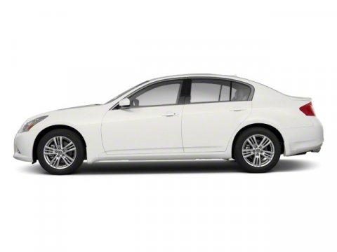 2012 Infiniti G37 Sedan Moonlight White V6 37L  52114 miles  Rear Wheel Drive  Tow Hooks  P