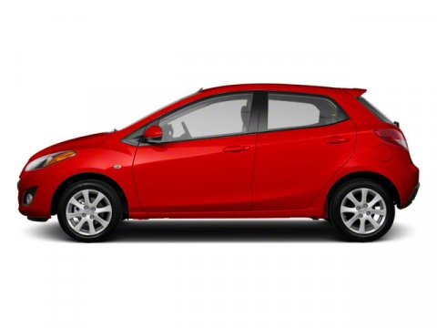 2012 Mazda Mazda2 Sport True RedBlack V4 15L Automatic 91591 miles  BLACK CLOTH SEAT TRIM  T