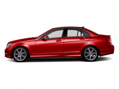 2012 Mercedes C-Class Red V4 18L Automatic 23320 miles  Turbocharged  Rear Wheel Drive  Pow