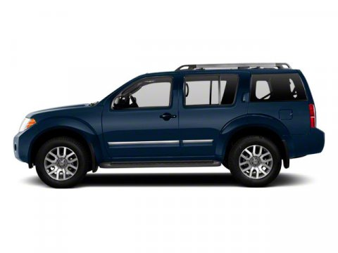 2012 Nissan Pathfinder 40L Navy Blue V6 40L Automatic 46834 miles  Rear Wheel Drive  Tow Hi