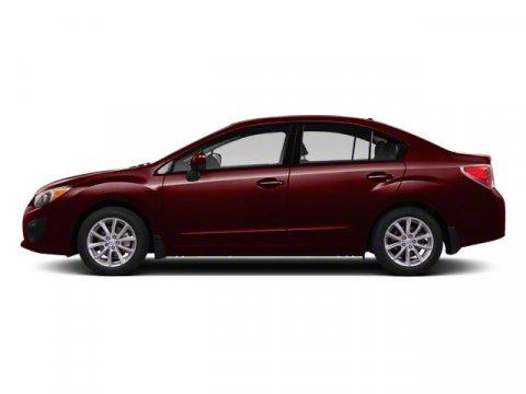 2012 Subaru Impreza 20i Premium Deep Cherry PearlGray V4 20L Variable 81979 miles   Stock