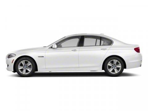 2013 BMW 5 Series 535i Alpine White V6 30L Automatic 41367 miles  Turbocharged  Keyless Entr