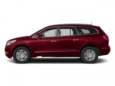 2013 Buick Enclave Premium Crystal Red Tintcoat V6 36L Automatic 83940 miles  EBONY PERFORATE