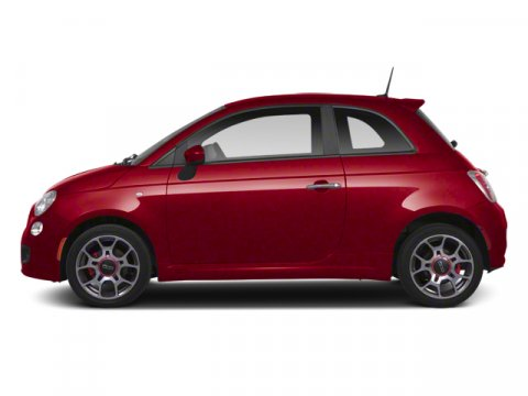 2013 FIAT 500 Pop Rosso Red V4 14L Manual 44361 miles Perfect Color Combination Bob Baker