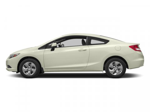2013 Honda Civic Cpe LX Taffeta White V4 18L Automatic 10618 miles  Front Wheel Drive  Power