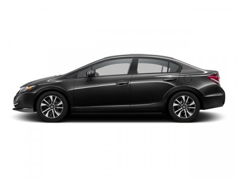 2013 Honda Civic Sdn EX Crystal Black Pearl V4 18L Automatic 38807 miles 1 local owner - trad