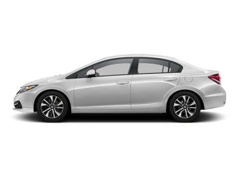 2013 Honda Civic Sdn EX Alabaster Silver Metallic V4 18L Automatic 77625 miles  Front Wheel D