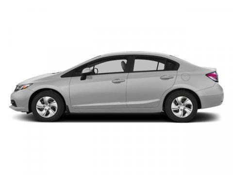 2013 Honda Civic Sdn LX Alabaster Silver MetallicGray V4 18L Automatic 43352 miles Low Miles