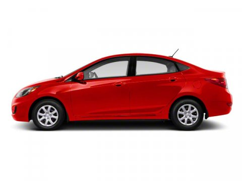 2013 Hyundai Accent GLS Boston Red V4 16L  62861 miles  Front Wheel Drive  Power Steering