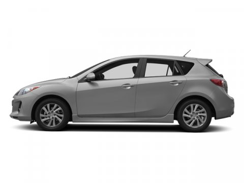 2013 Mazda Mazda3 i Touring Liquid Silver MetallicBlack V4 20L Automatic 36120 miles  Front W