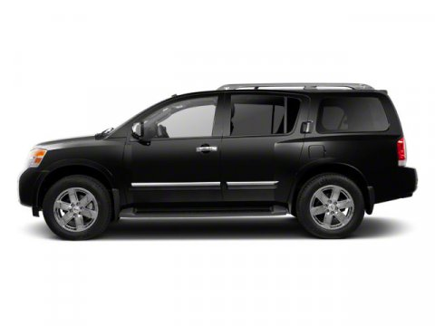2013 Nissan Armada SV Galaxy Black V8 56L Automatic 55080 miles  Four Wheel Drive  Tow Hitch