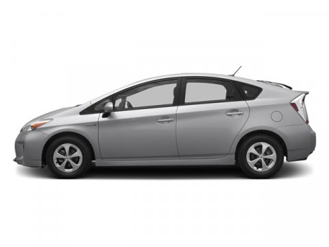 2013 Toyota Prius Two Classic Silver MetallicDark Gray V4 18L Variable 35196 miles  Color-key
