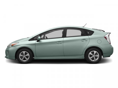 2013 Toyota Prius Four Sea Glass PearlDark Gray V4 18L Variable 25037 miles  Color-keyed fold
