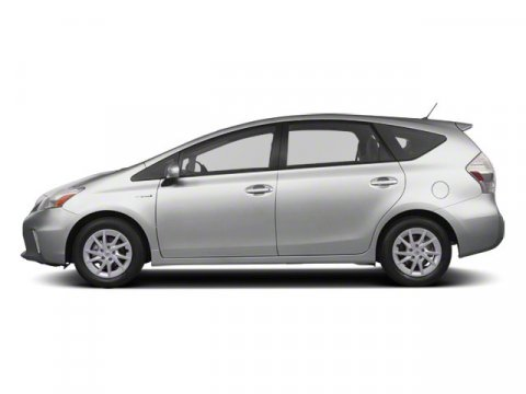 2013 Toyota Prius v Three Classic Silver MetallicDark Gray V4 18L Variable 29427 miles  REAR