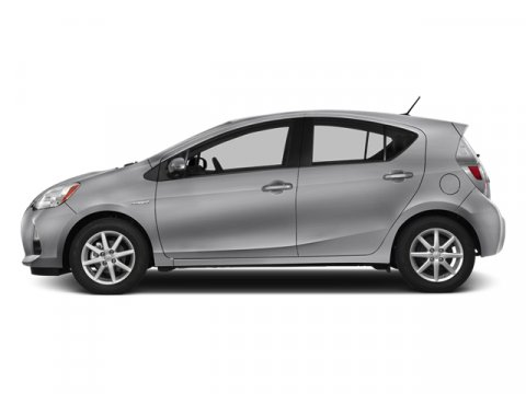 2013 Toyota Prius c Two Classic Silver MetallicLight Blue GrayBlack V4 15L Variable 29582 mil