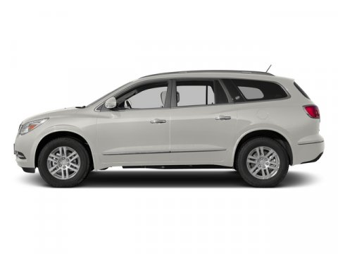 2014 Buick Enclave Leather White OpalEbony V6 36L Automatic 35336 miles  WHEELS 19 483 CM