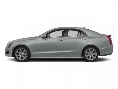 2014 Cadillac ATS Luxury RWD Radiant Silver MetallicJet Black wJet Black Accents V4 20L Automa