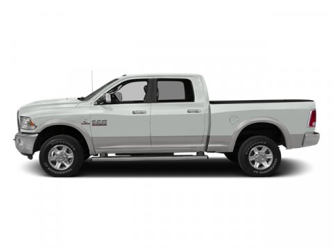 2014 Ram 2500 Laramie Bright White ClearcoatBlack V6 67 L Automatic 75885 miles 4WD Diesel