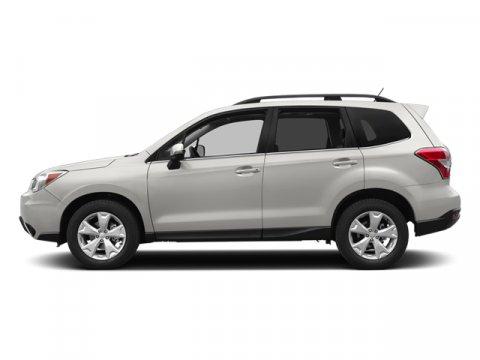 2014 Subaru Forester 25i Premium Satin White Pearl V4 25 L Variable 29672 miles  All Wheel D
