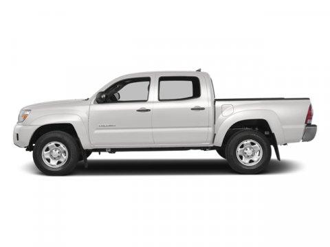 2014 Toyota Tacoma 4X4 TRD SPORT Super WhiteGray V6 40 L Automatic 18583 miles  Radio Entune
