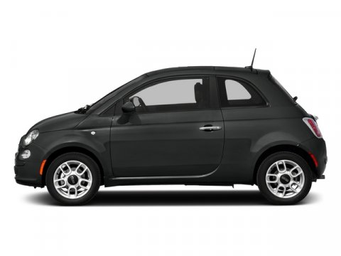 2015 FIAT 500 Pop Nero Puro Straight Black V4 14 L  347 miles BLUETOOTH MP3 Player KEYLES