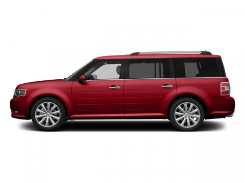 2015 Ford Flex SEL Ruby Red Metallic Tinted ClearcoatChar Blk Leather V6 35 L Automatic 0 mile