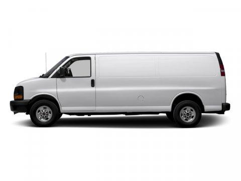 2015 GMC Savana Cargo Van Summit White V8 48L Automatic 18290 miles  Power Door Locks  Power