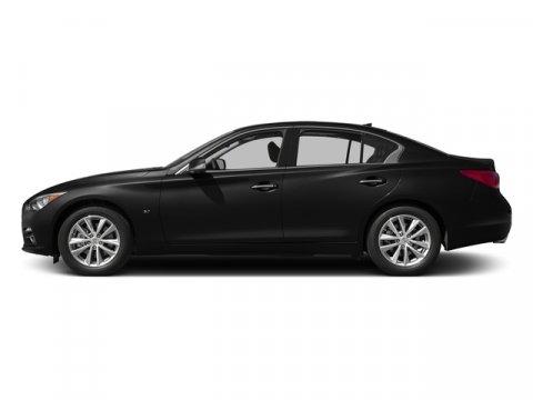 2015 Infiniti Q50 Premium Black ObsidianGraphite V6 37 L Automatic 0 miles  B92 SPLASH GUAR