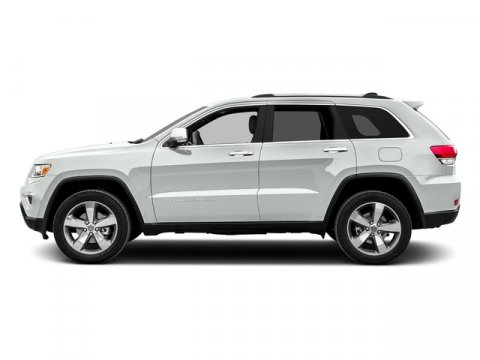 2015 Jeep Grand Cherokee Limited Bright White ClearcoatBlack V6 36 L Automatic 11 miles Strol