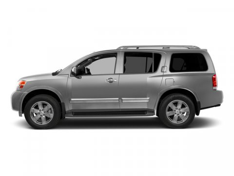 2015 Nissan Armada SV Brilliant Silver V8 56 L Automatic 0 miles Built on a muscular and full