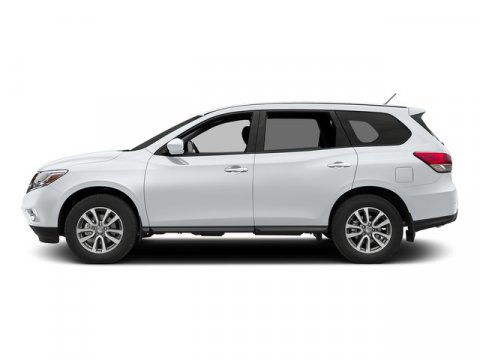 2015 Nissan Pathfinder S Glacier White V6 35 L Variable 0 miles The Nissan Pathfinder is an i
