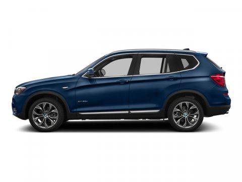 2016 BMW X3 xDrive28i Deep Sea Blue MetallicBrown V4 20 L Automatic 9 miles  DEEP SEA BLUE ME