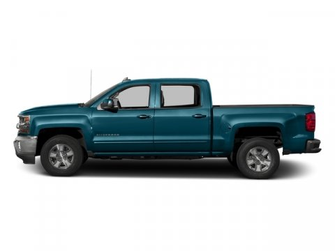 2016 Chevrolet Silverado 1500 LT Deep Ocean Blue MetallicJet Black V8 53L Automatic 42606 mile
