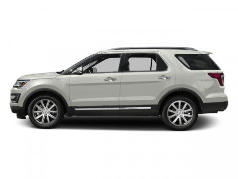 2016 Ford Explorer Limited White Platinum Metallic Tri-CoatEbony V4 23 L Automatic 0 miles Th