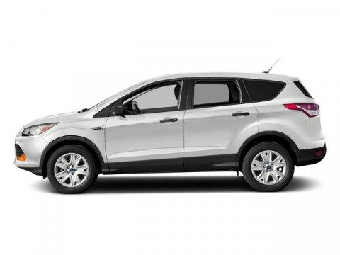 2016 Ford Escape SE White Platinum Metallic Tri-CoatMed Lt Stone Lth Spt Sts V4 25 L Automatic