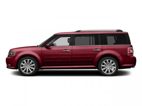 2016 Ford Flex SEL Ruby Red Metallic Tinted ClearcoatDk Erth Gry Lth Bkt V6 35 L Automatic 0 m
