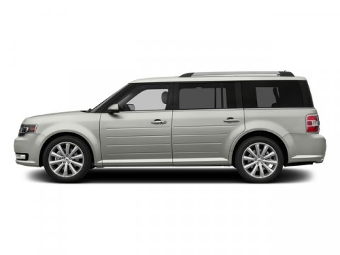 2016 Ford Flex Limited wEcoBoost White Platinum Metallic Tri-CoatCharcoal Black V6 35 L Automa