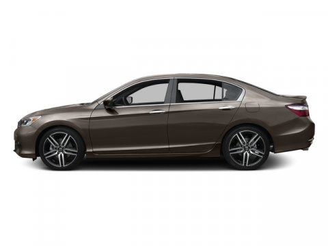 2016 Honda Accord Sedan Sport Kona Coffee MetallicBlack V4 24 L Variable 0 miles  Front Wheel