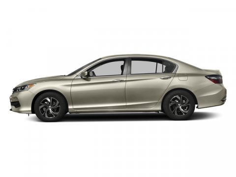 2016 Honda Accord Sedan LX Champagne Frost PearlIvory V4 24 L Variable 0 miles  Front Wheel D