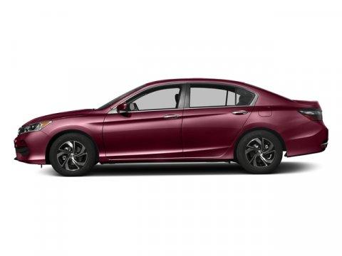2016 Honda Accord Sedan LX Basque Red Pearl IIIvory V4 24 L Variable 0 miles  Front Wheel Dri