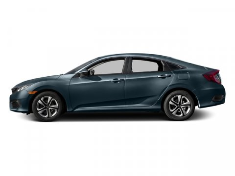 2016 Honda Civic Sedan LX Cosmic Blue MetallicGray V4 20 L Variable 0 miles  Front Wheel Driv